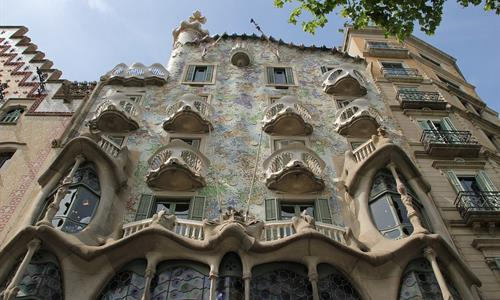 Not only the architecture was designed by Gaudi, but also the furniture inside it.