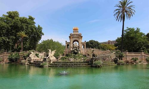 Various sculptures and statues can be found in the greenest area of Barcelona, Parc de la Ciutadella