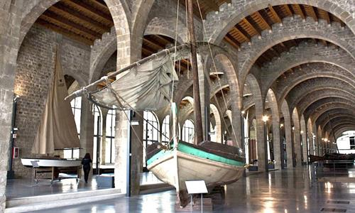 An Exhibition in the Maritime Museum of Barcelona