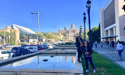Tiqy Travellers in Barcelona