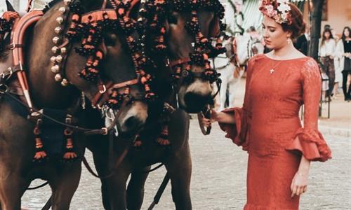 Vestido Tradicional Flamenco