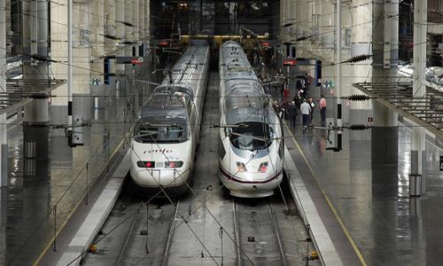 Estación de Tren en España
