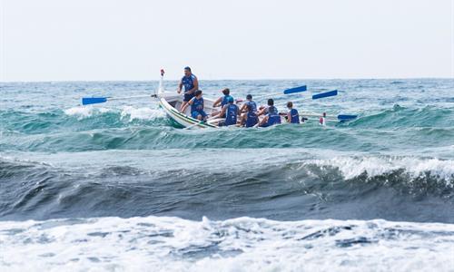Kayaking  Contest in El Palo Beach