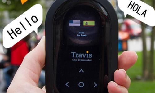 Travis the translator - travel gadgets - Tiqy