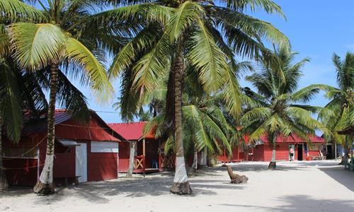 Cabins on Diablo Island