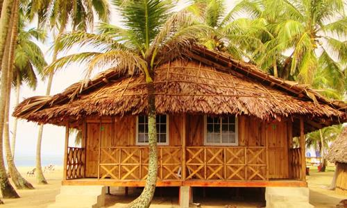 Cabin on Aguja Island