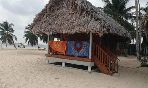 Cabin on Franklin Island