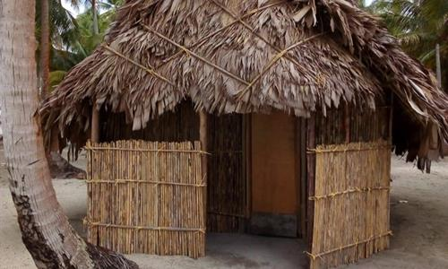 Cabin on Demar Achudup Island