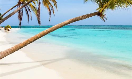 Beach in Cayos Holandeses