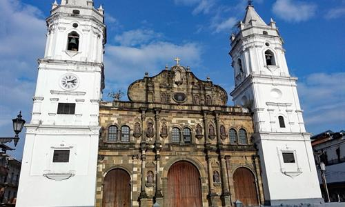 Panama Cathedral in Casco Viejo