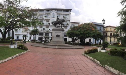 Herrera Square in Casco Viejo