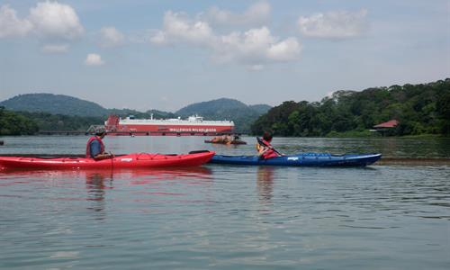 Views from the Kayak Tour in the Panama Canal