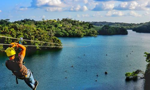 Canopy Tour Over the Gatun Lake