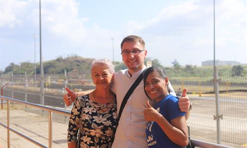 Miraflores Locks Visitors Center Observation Gallery