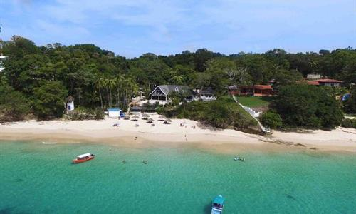 Contadora Island Beach Near Panama City