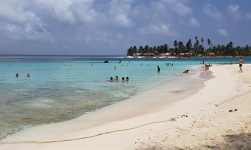 The San Blas Islands of Panama is an archipelago of 300 islands and cays approximately, of which 50