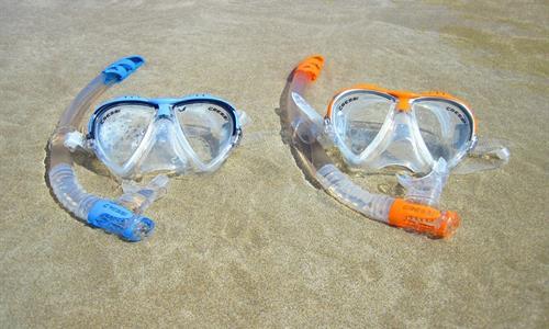 San Blas snorkel perfect for snorkeling