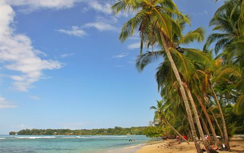 Bocas del Toro beach in Panama