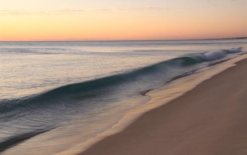Sunset at Playa Blanca Panama