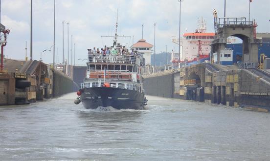 Tour de Tránsito por el Canal de Panamá