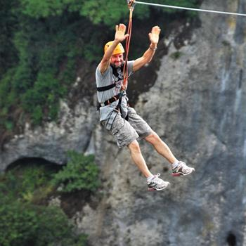 Zip Line Canopy Tours, Panama, Central America