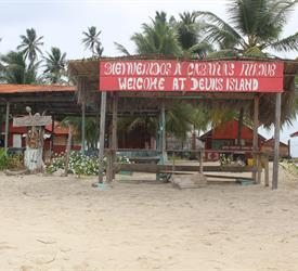 Tour de 1 Noche y 2 Días en Isla Diablo desde Puerto Cartí