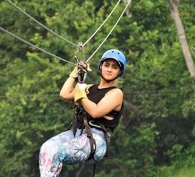 10 Line Canopy Tour in Gamboa from Panama City