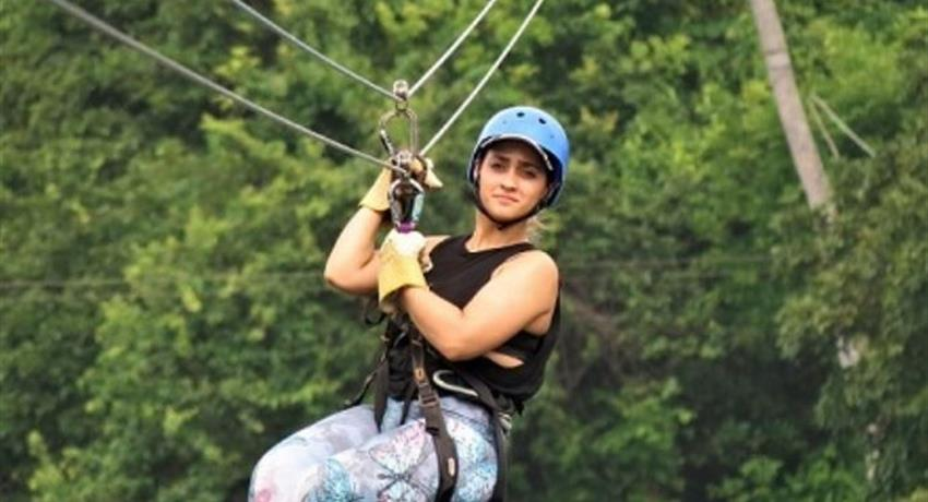 10 LINE CANOPY TOUR IN GAMBOA FROM PANAMA CITY, 10 Line Canopy Tour in Gamboa from Panama City