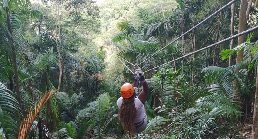 10 LINE CANOPY TOUR IN GAMBOA FROM PANAMA CITY 4, 10 Line Canopy Tour in Gamboa from Panama City
