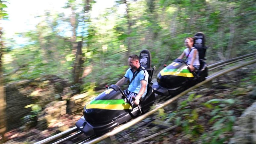 2 Days Jamaica Bobsled and Irie Blue Hole Tours, 2 Days Jamaica Bobsled and Irie Blue Hole Tours