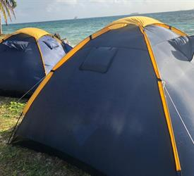 2 Night and 3 Day Camping Tour in Cayos Limones from Panama City