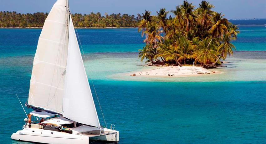 SAILINGTOURINSANBLASFROMPANAMA, 3 Day 3 Night Sailing Tour In San Blas From Panama City By Plane