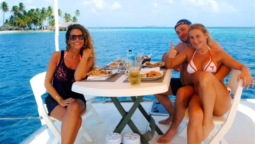 SAILINGTOURINSANBLASFROMPANAMA2, 3 Day 3 Night Sailing Tour In San Blas From Panama City By Plane