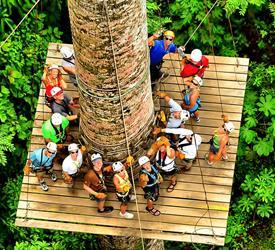 3-Hour Canopy Tour at Los Sueños