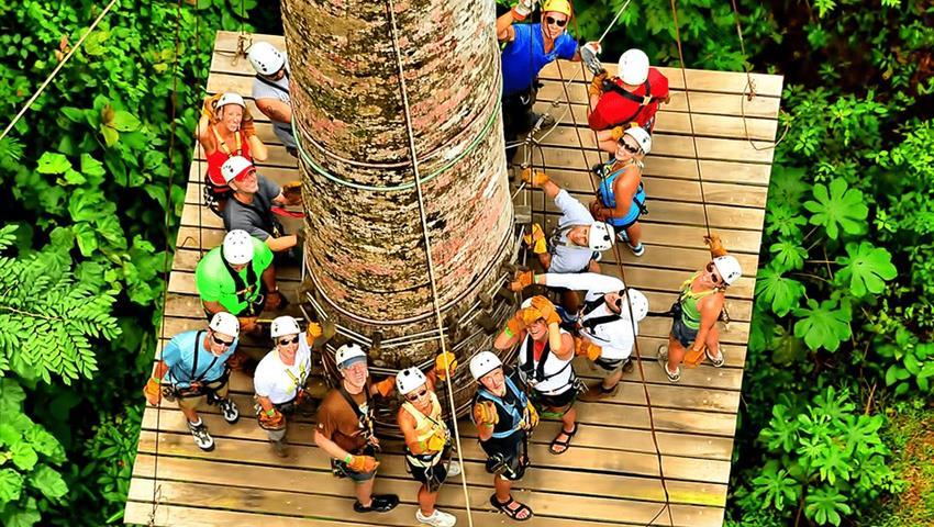 Zip, 3-Hour Canopy Tour at Los Sueños