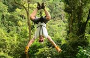 Upsidedown, 3-Hour Canopy Tour at Los Sueños