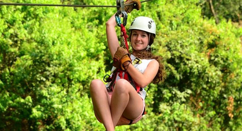Zip Line, 3-Hour Canopy Tour at Los Sueños