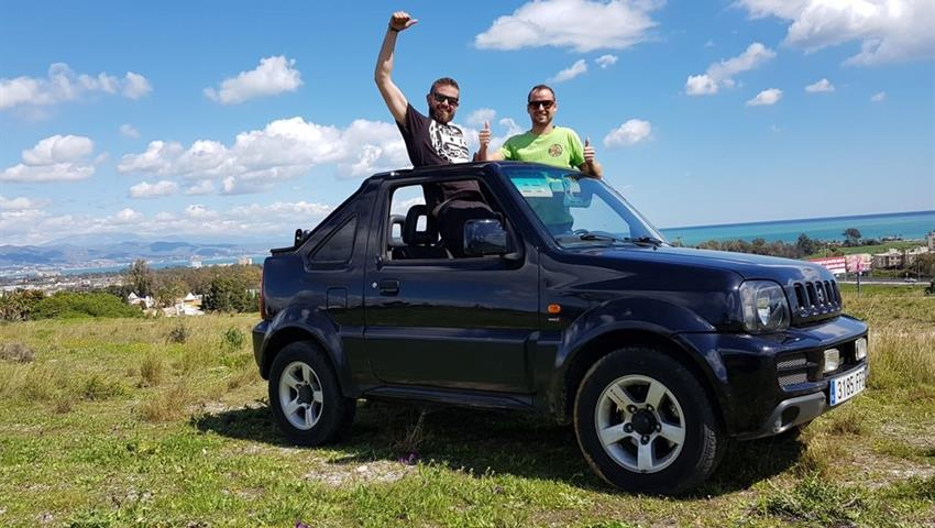 option without a local guide - tiqy, 4X4 Adventure in Valle del Guadalhore