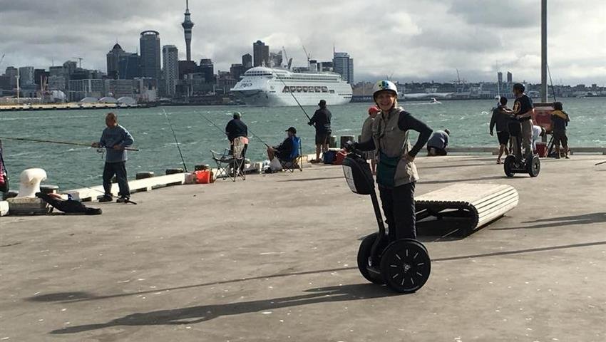 segway tiqy, A Taste of Segway