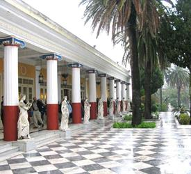 Achillion Palace, Kanoni, Mon Repo, Corfu Town Tour, City Tours in Greece