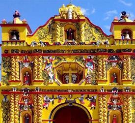 Colonial Churches: San Cristóbal, San Andrés Xecul, Salcajá, City Tours in Guatemala