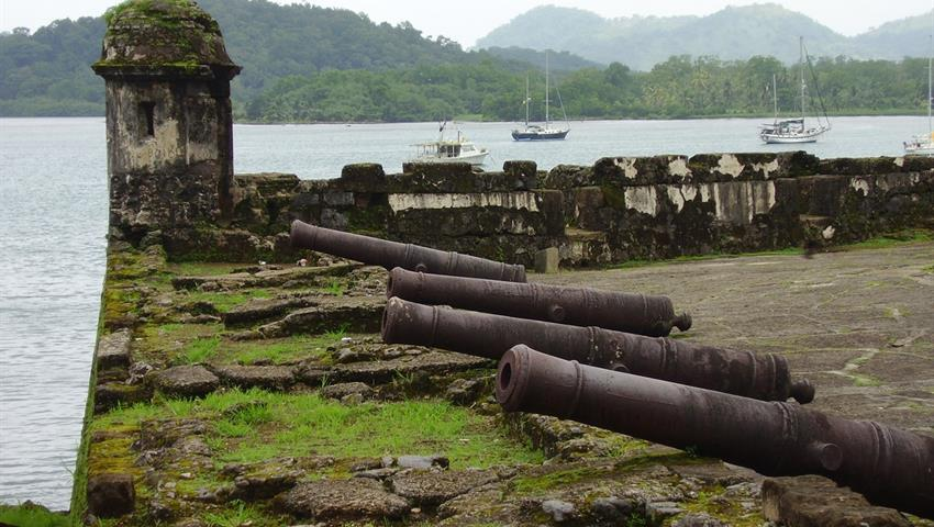 AGUA CLARA LOCKS AND PORTOBELO FROM PANAMA CITY 1, Agua Clara Locks and Portobelo From Panama City