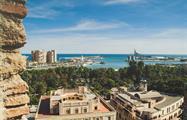 panoramic view of Malaga - tiqy, Alcazaba Walking Tour