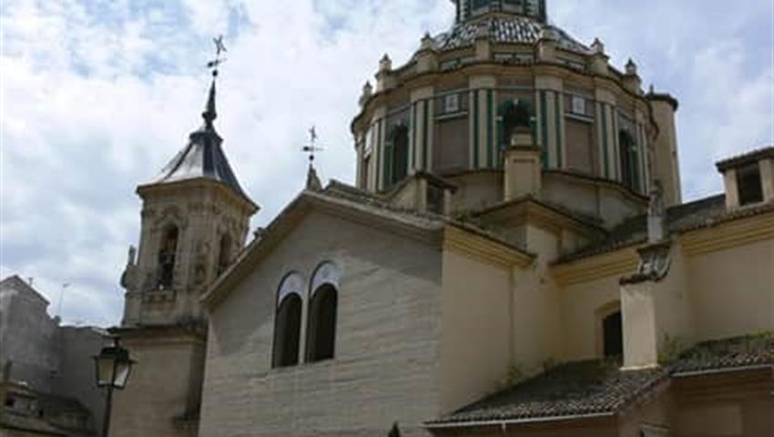 Granada City Tour Basilica de Dios, Granada Panoramic Train