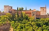 Granada City Tour Alhambra, Granada Panoramic Train