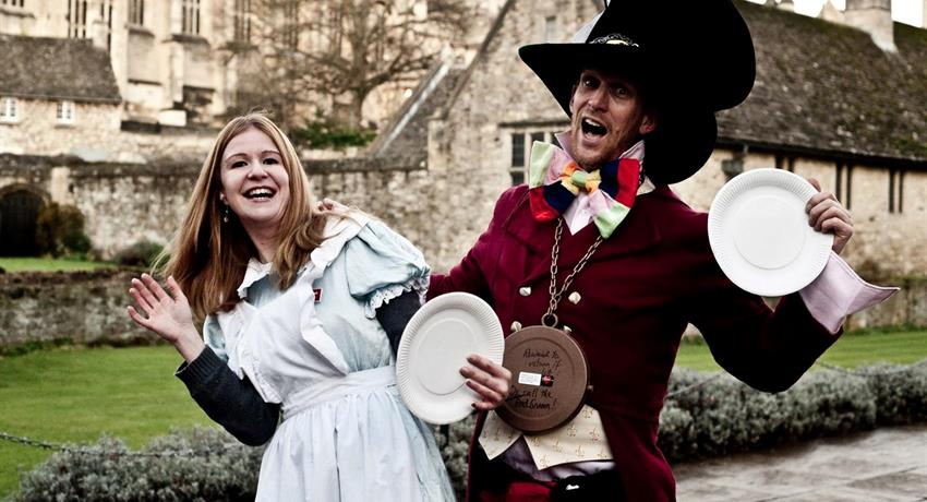 Alice in Wondeland by Visit Oxford Tours, Alice in Wonderland Oxford Bicycle Tour