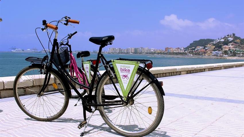 Malaga bike tours and rentals, Alternative Malaga Route
