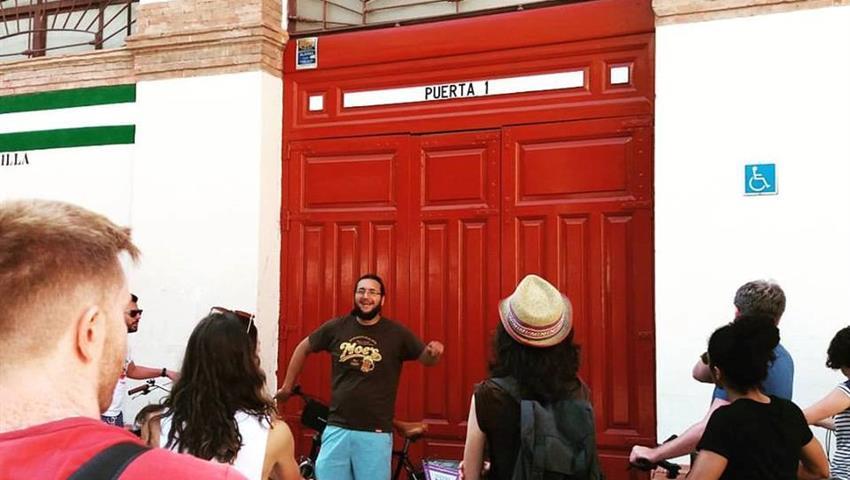 Malaga bike tours and rentals guided tour, Alternative Malaga Route