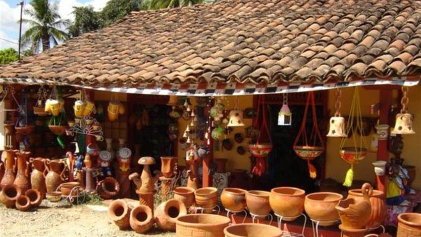 famous artisan house in la arena de chitre - tiqy, Tour del Artesano