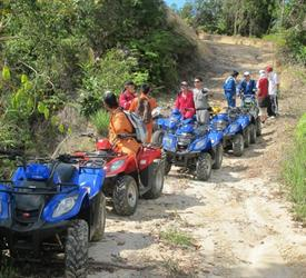 ATV Coffee Tour